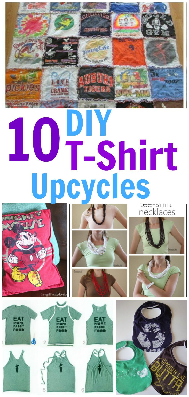 10 T Shirt Ideas To Repurpose Your Old Shirts Into Something Useful